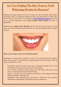 Are You Finding The Best Nearest Teeth Whitening Dentist In Houston