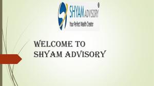 Shyam Advisory Ltd (Investment Advisor)