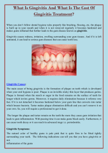 What Is Gingivitis And What Is The Cost Of Gingivitis Treatment