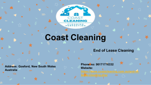 End of Lease Cleaning Central Coast by Coast Cleaning