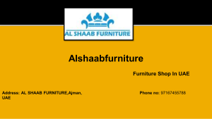 UAE Best Furniture Shop