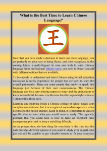 What is the Best Time to Learn Chinese Language-converted