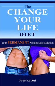 The Change Your Life Diet™ by Alek PDF eBook