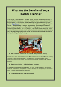 What Are the Benefits of Yoga Teacher Training