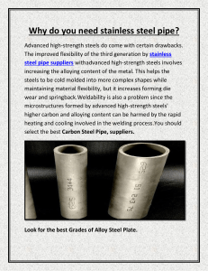 Why do you need stainless steel pipe