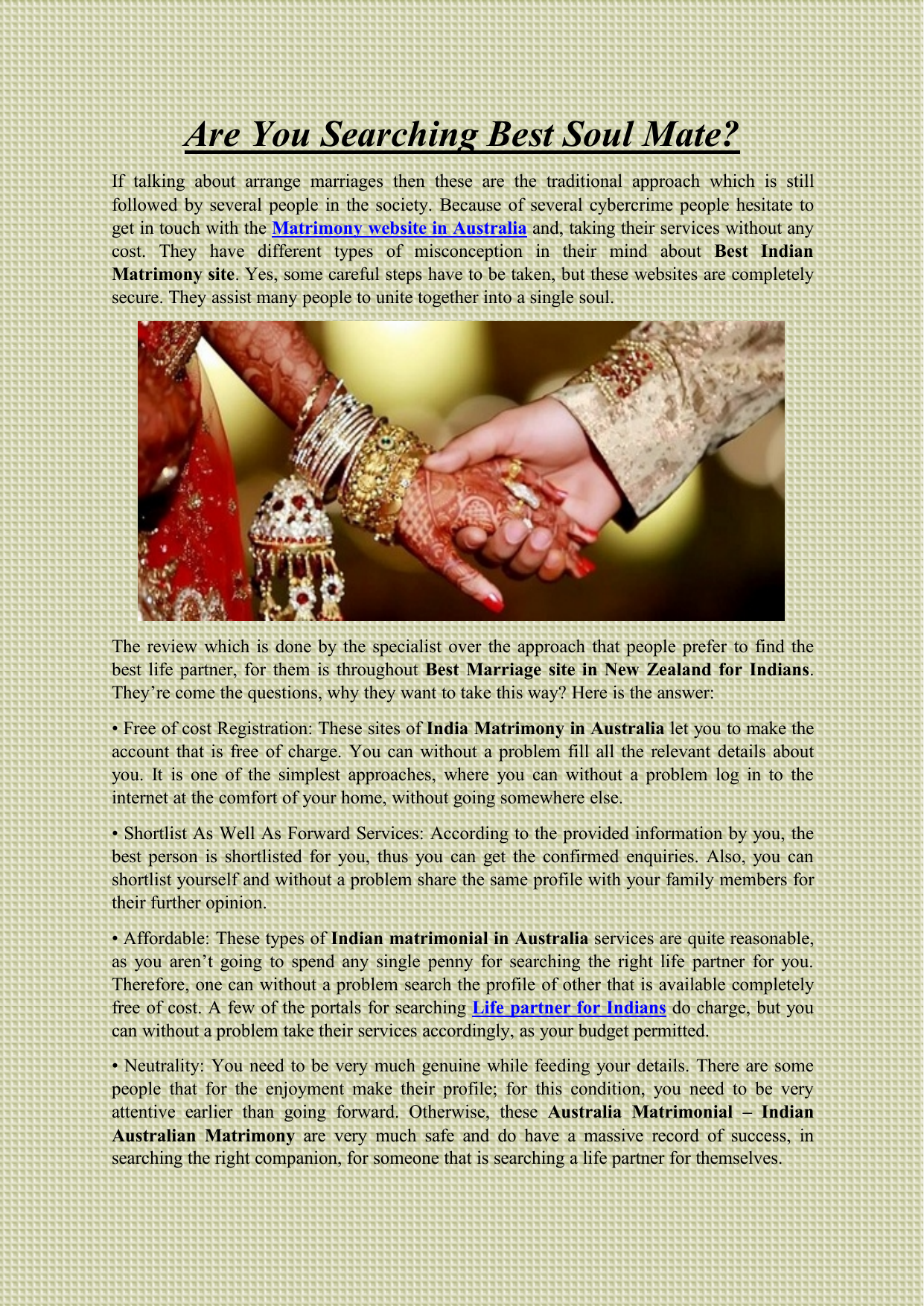 Contact sites details free marriage with Muslim Marriage